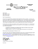 Wyoming labor market information for Cover letter for questionnaire surveys